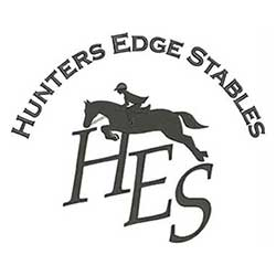 Logo-Hunters Edge Stables