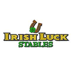Logo-Irish Luck Stables