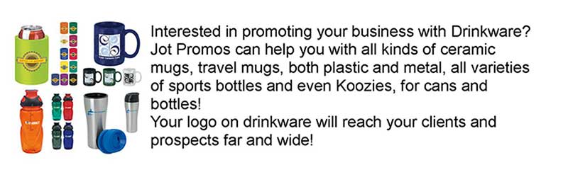 Logo-Drinkware Promotional Items
