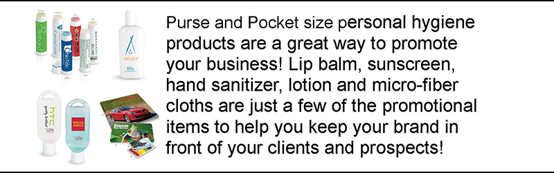 Logo-Personal Hygiene Promotional Items