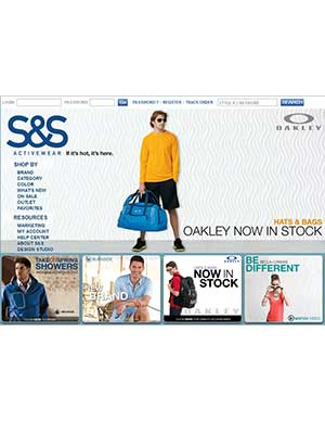 Logo-SS Active Wear